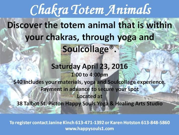 chakra totem animals