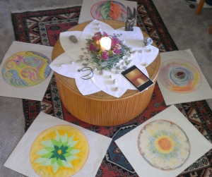 solstice mandalas