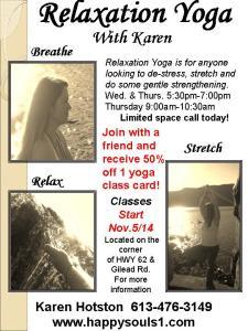 New Class Yoga Flyer 3