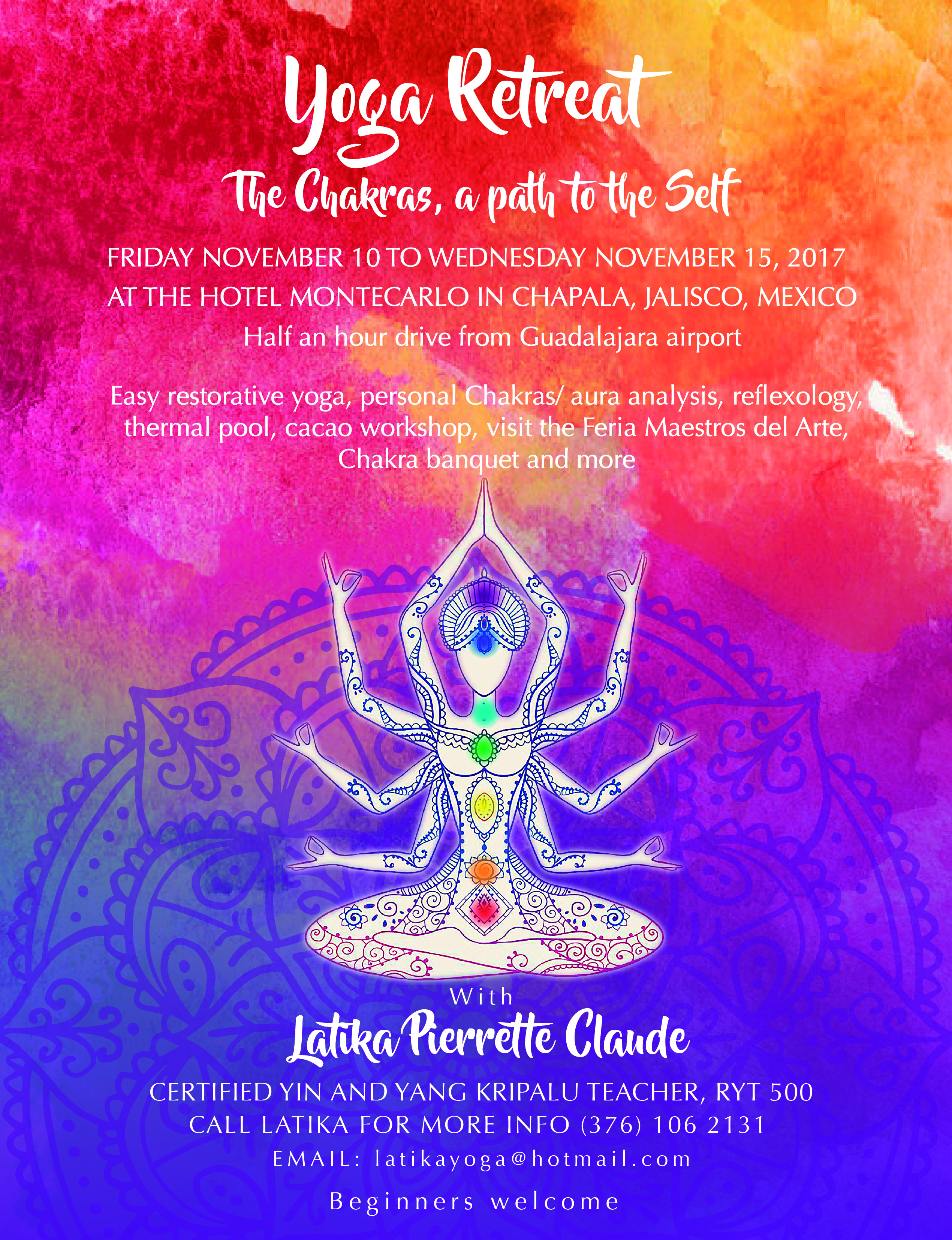 I Am So Honoured To Be Attending This Retreat And Providing A Little Yoga Nidra